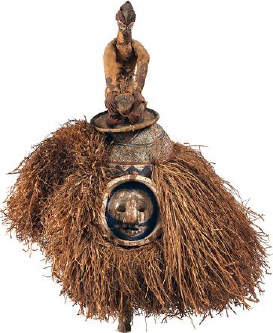 initiation mask, Yaka