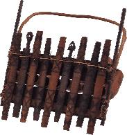 Kalangba xylophone