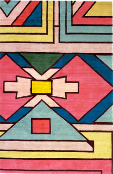 ndebele patterning