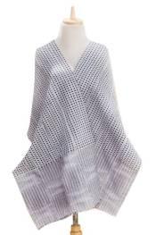 Unique Kente Cloth Scarf, 'Kpekui'