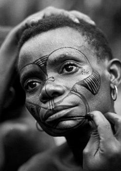 mbuti facepainting
