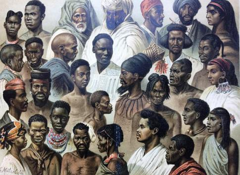 african races 1904