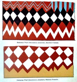 SA wall patterns, 1905