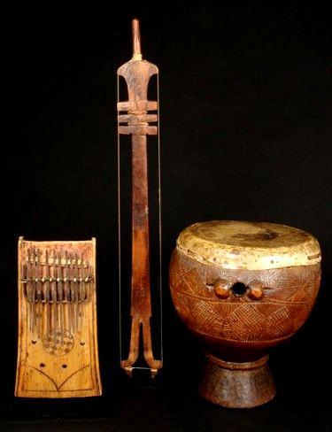 africa art flutes