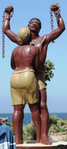 Freedom statue, Goree Island