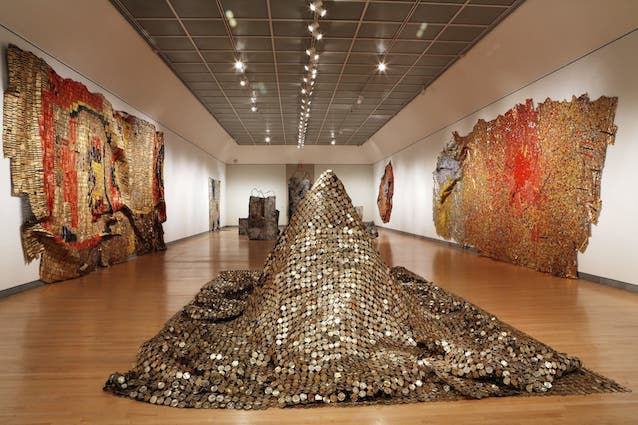 'Gravity and Grace: Monumental Works', El Anatsui  Brooklyn Museum.