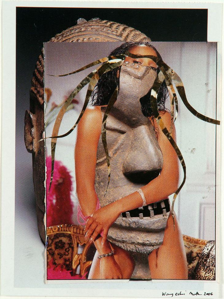 Wangechi Mutu 'The Mask'