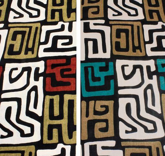 Afrocentric modern kuba inspired