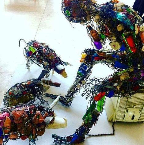 zimbabwe nat gall recycled art