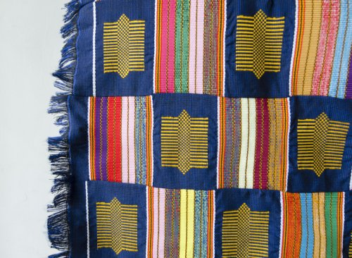 'Bobbo' Ahiagble, kente cloth