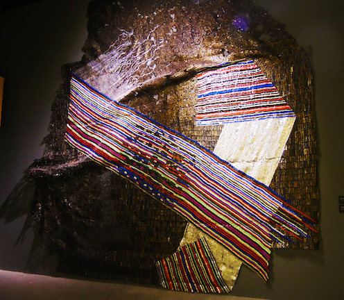 'Opening of time', Anatsui