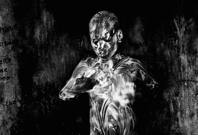 'Showering', 2017, Mario Micilau