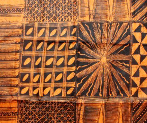 Urbanstax - orange batik