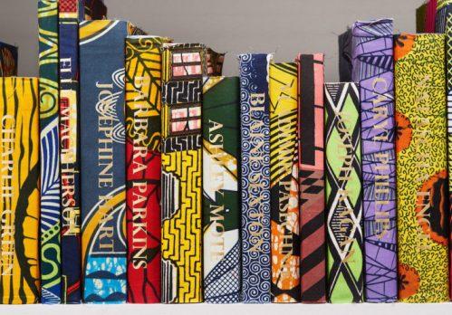 Library, dutch wax fabrics