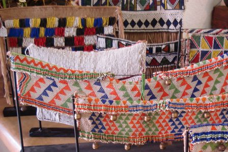 Zulu beaded skirts