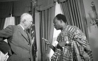 Nkrumah and Eisenhower, 1958, Washington