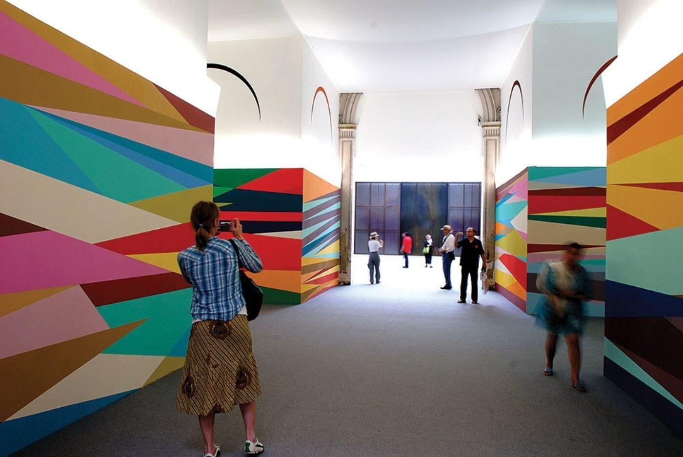 'Give me Shelter', Odili Donald Odita, 52nd Biennale