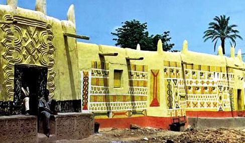Clay house, Nigeria