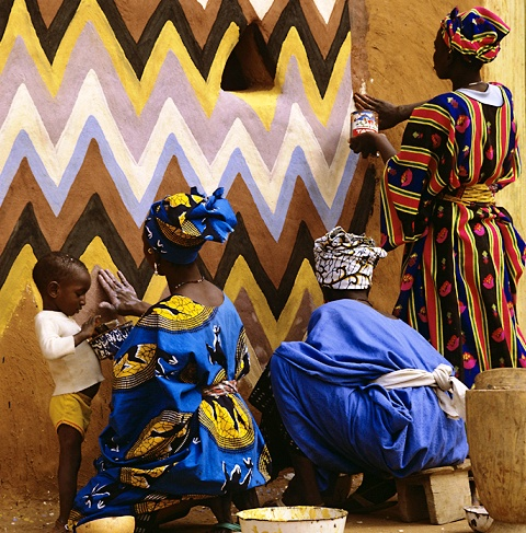 african canvas 07