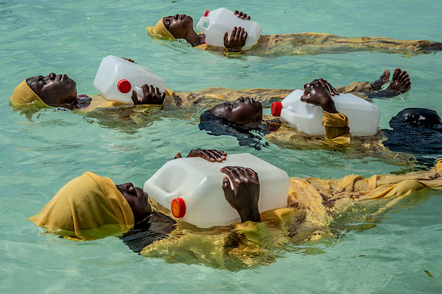 'Finding Freedom in the water', Anna Boyiazi