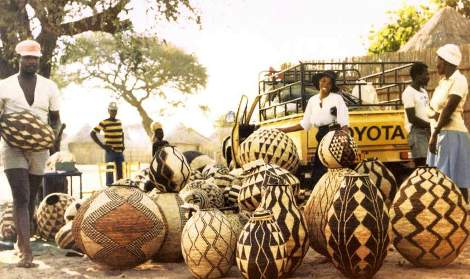 tswana baskets