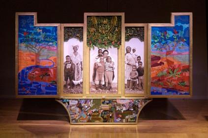 Keiskamma Altarpiece, Open Panel
