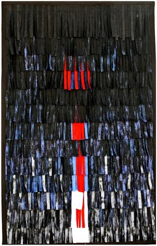 Abdoulaye Konaté, Composition 5, textile 2012