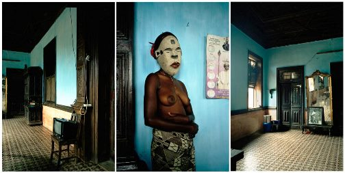From series'Demoiselles of Porto-Novo', Leonce Raphael Agbodjelou