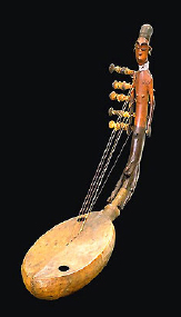 anthromorphic harp