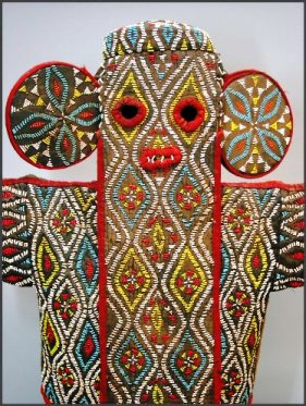 bamileke beaded mask
