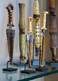 decorated knives