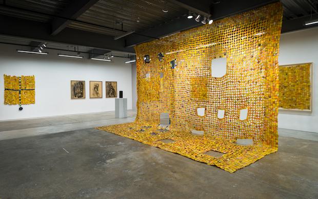 Serge Clottey, Installation Evergold Gall SF