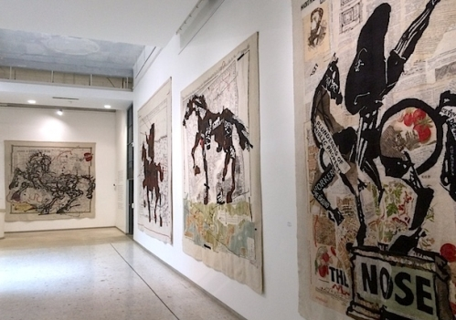 Kentridge and Stephens Tapestries,   JAG Exhibition 2015
