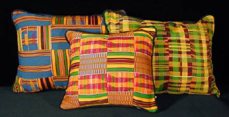 kente cushions