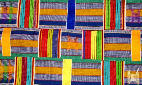 kente rails quilt pattern
