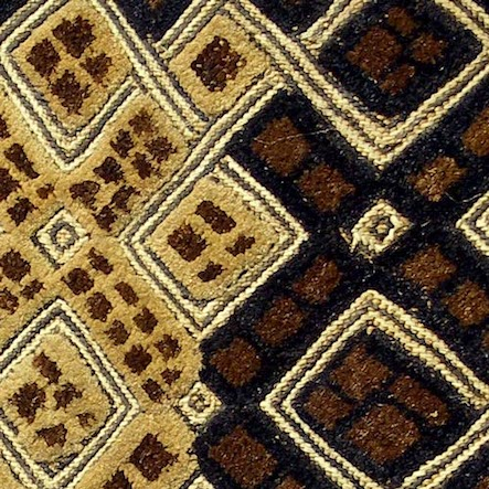 Detail, shoowa cloth, Hamill Gall