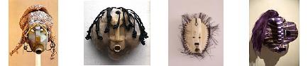 Photos of African masks