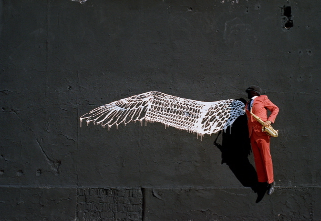 Robin Rhode 'Birdman'
