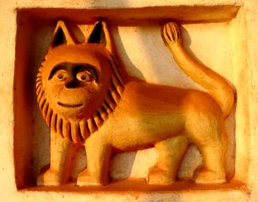 lion palace Abomey