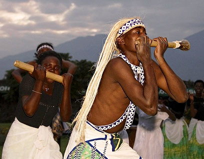 Bamboo flute, Rwanda
