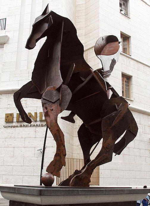 William Kentridge, 'Il Cavaliere di Toledo' 2012, Naples