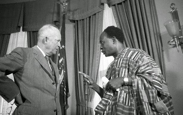 Nkrumah and Eisenhower, 1958, Washington