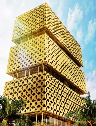 Lagos Wooden Tower