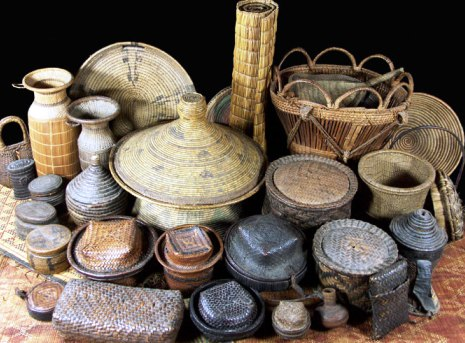 antique baskets