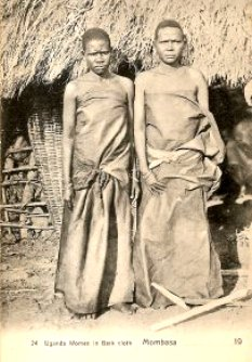 barkcloth wrappers
