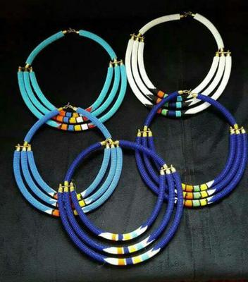 Bead Jewelry of African Arts