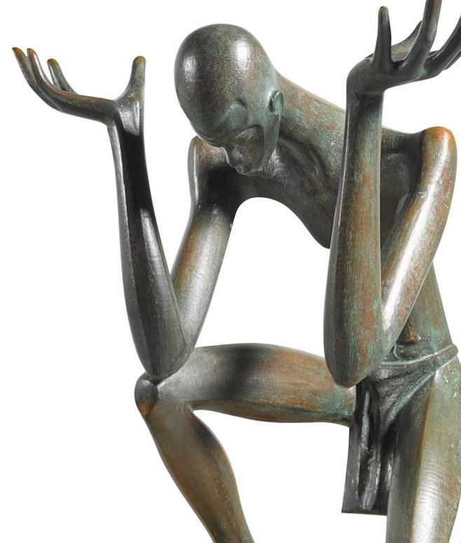 Ben Enwonwu, 'Atlas', bronze