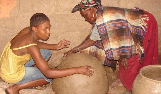 botswana pot