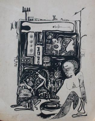 Songs of the City, ink, 1994