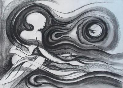 The Dreams can come true, charcoal, 2005